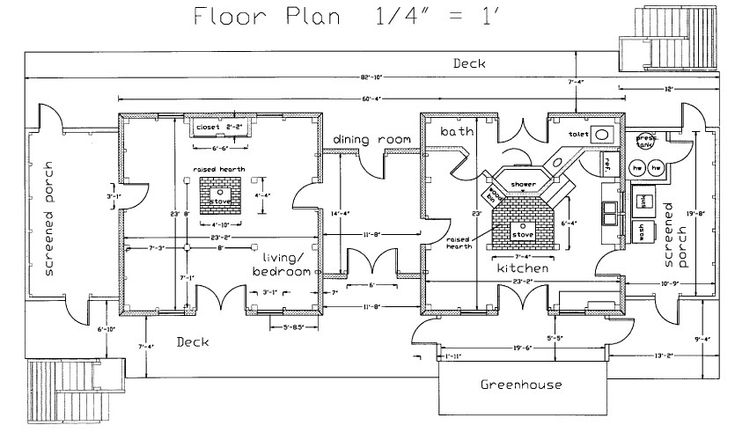 Do It Yourself Home Design: 20 Spectacular Dogtrot Home Plans