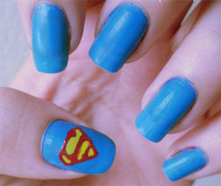 12-Easy-Superman-Nail-Art-Designs-Ideas-Trends-Stickers-Wraps-2014-7
