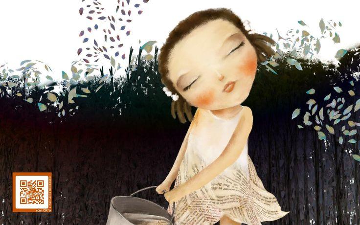 """Leicia Gotlibowski illustration for """"Hansel and Gretel""""."""