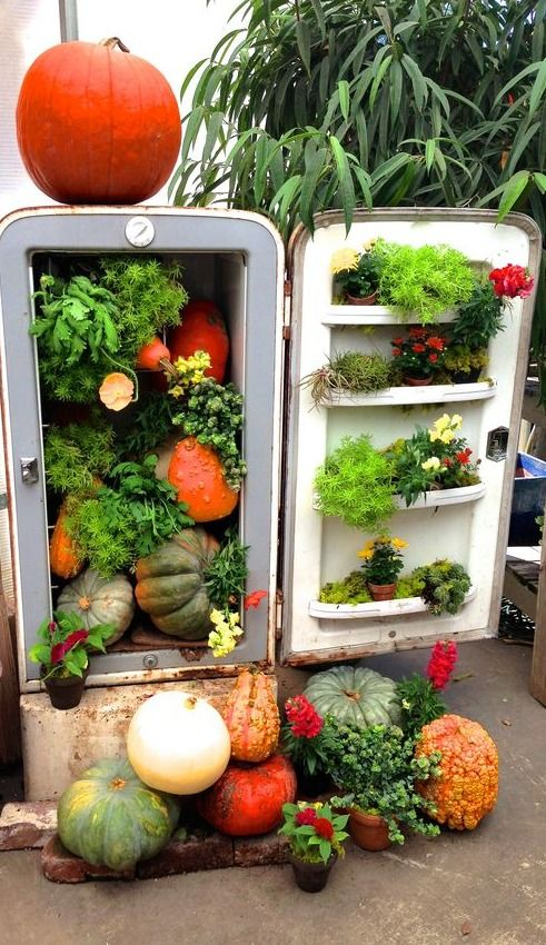 How to recycle old refrigerator - LittlePieceOfMe