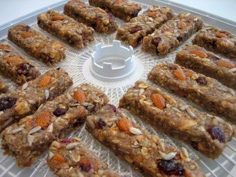 Granola Recipe Easy and Healthy Granola  Bars or  no Bake Cookies    P.S. You need a Dehydrator.