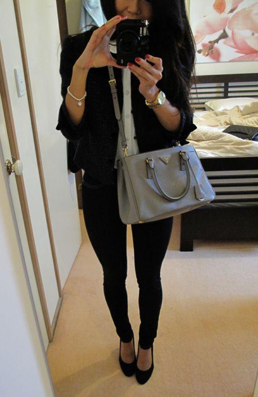 Prada Saffiano Lux Tote in Argilla - BN1801 #Prada #BagLove | Bags ...