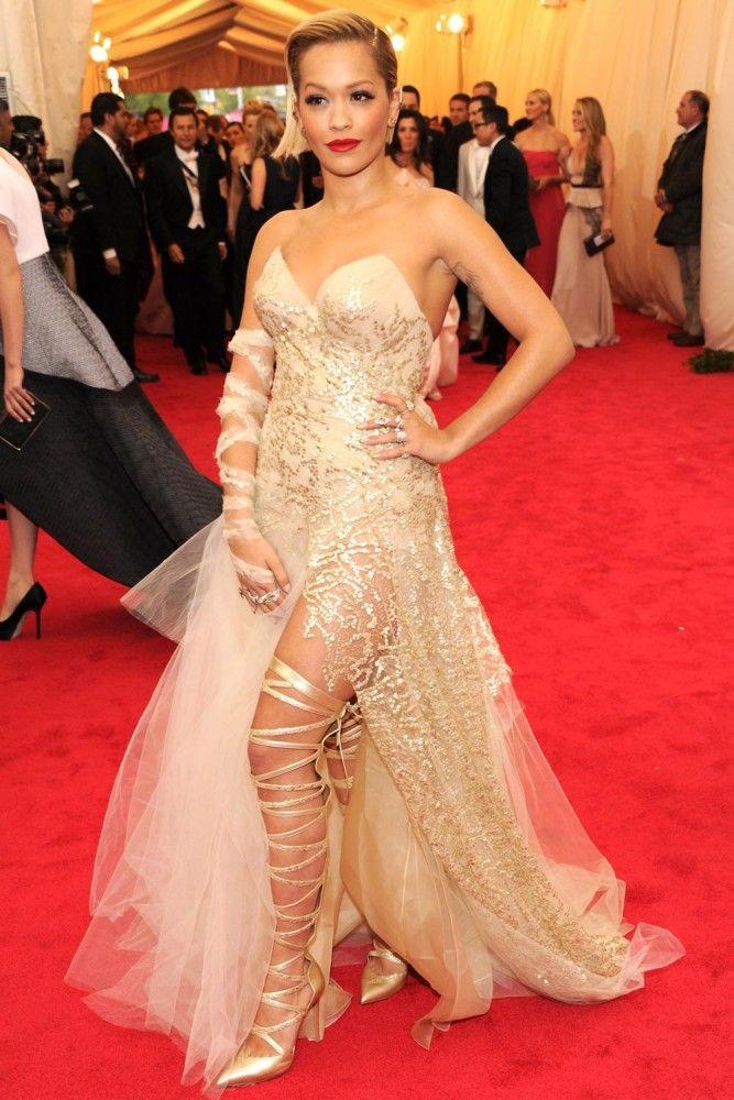 Rita Ora in Donna Karan Atelier @ The Met Gala 2014