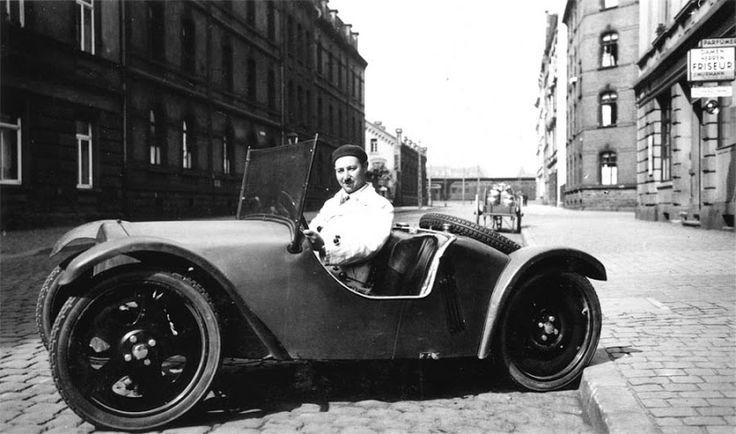 OG   1931 Adler Maikäfer   Prototype designed by Josef Ganz