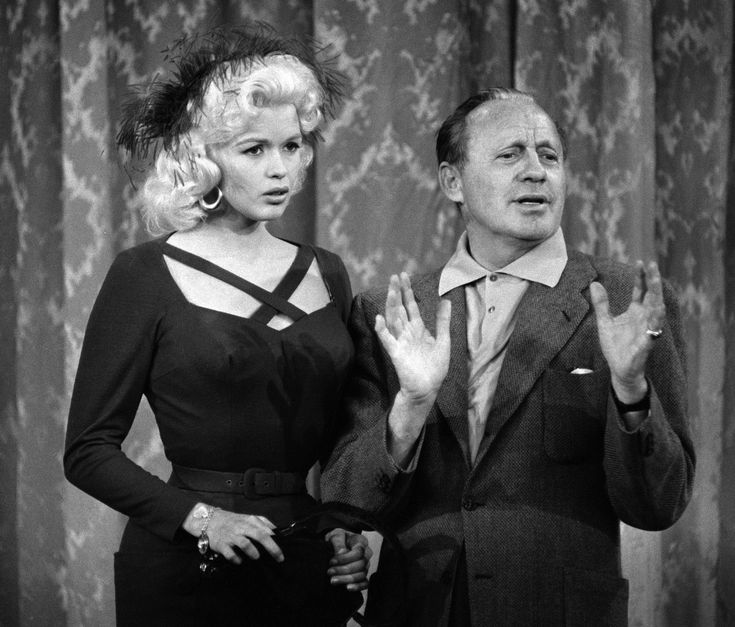 Jayne Mansfield on The Jack Benny Show