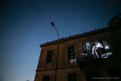 8-6-2015 Athens, the city we love.  Όμοφη γωνιά απέναντι απο το Μπλέ Παπαγάλο στο Μεταξουργείο.
