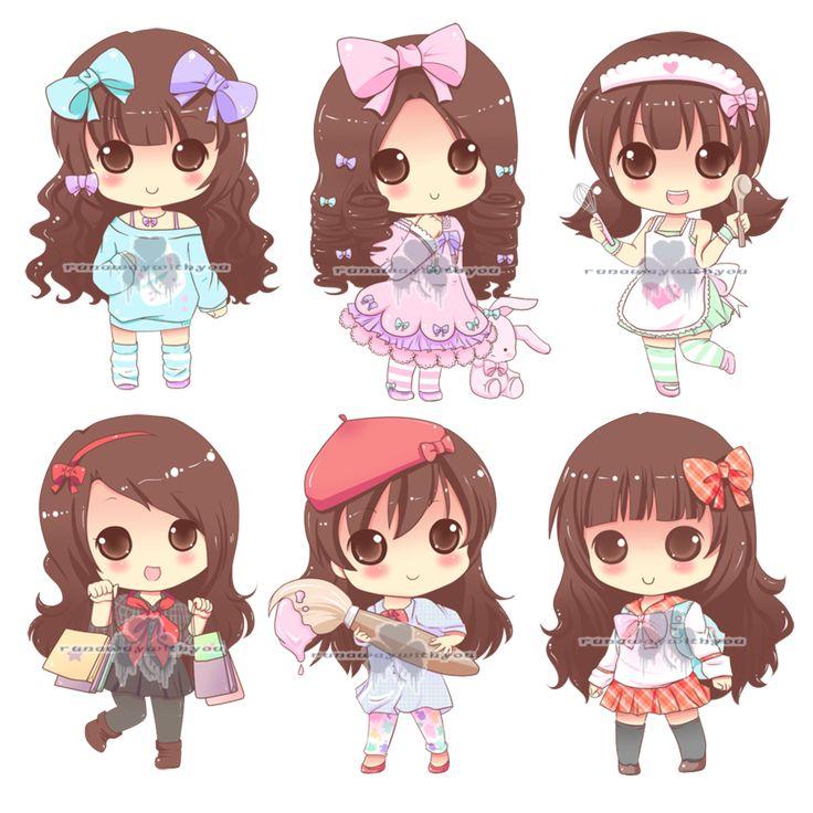 51 Best Chibis Images On Pinterest Kawaii Chibi Anime