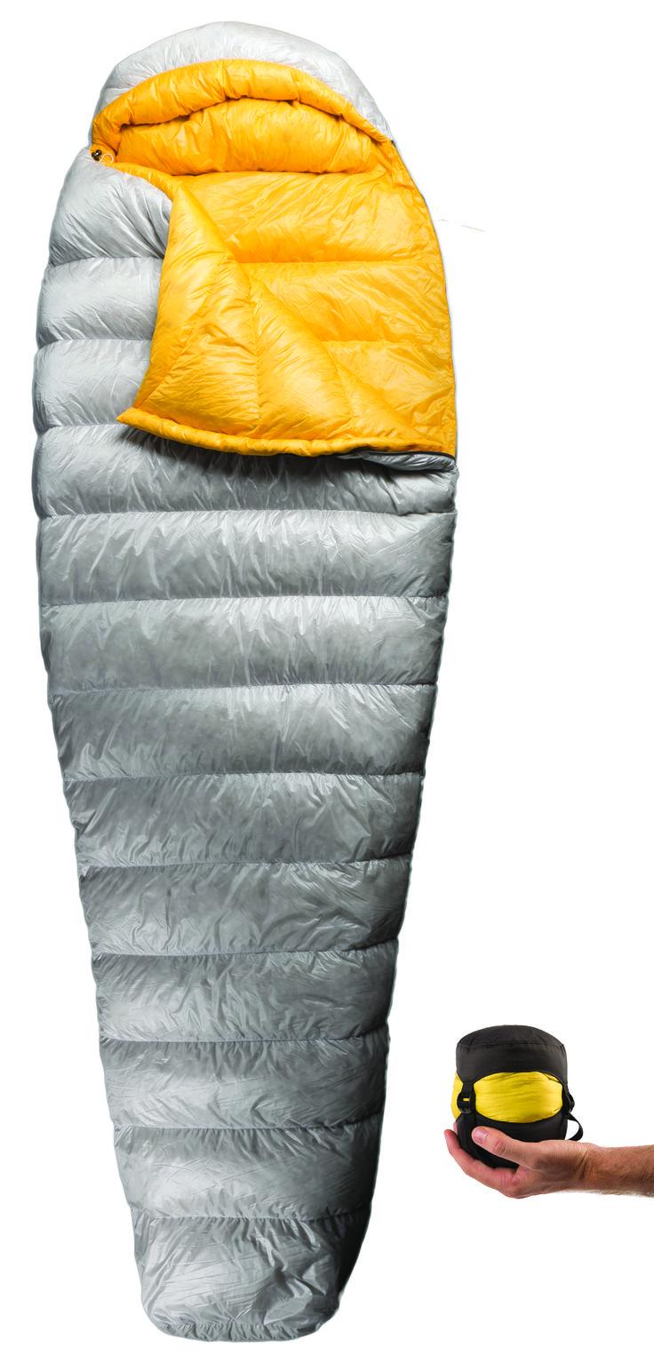 Spark Sleeping Bag l Light Weight l Camping Gear l Packable l Travel Solution l 850 + Ultra Dry Down l Sleep Tight l seatosummit.com