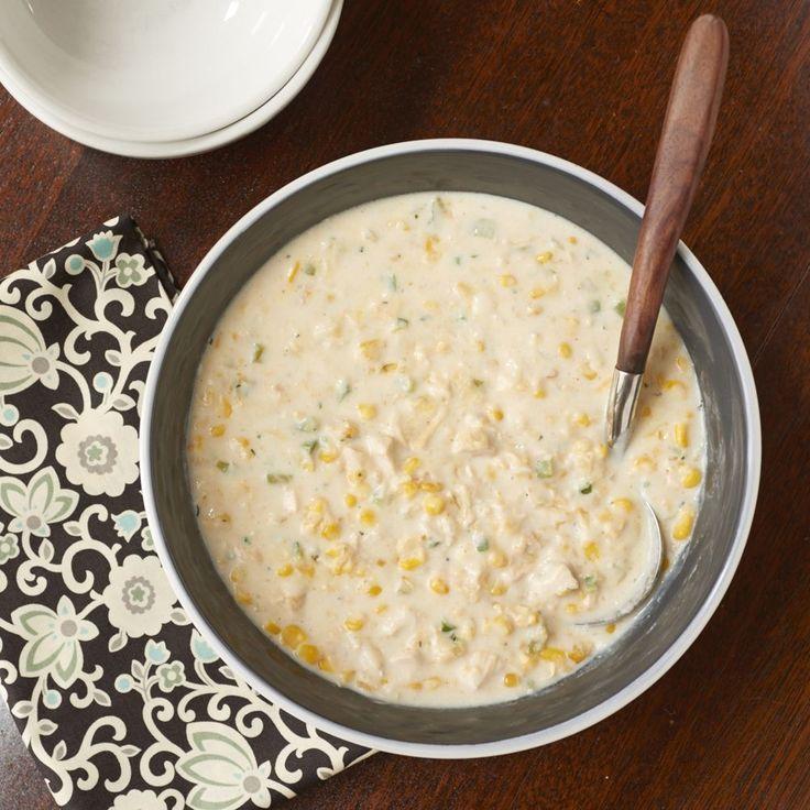 Quick Chicken-Corn Chowder (Cooking Light) | MyRecipes