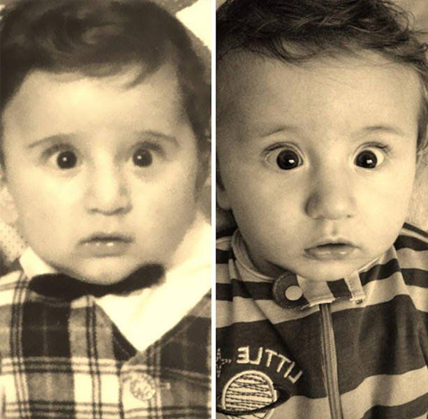 Дети, которые удивительно похожих на своих родителей http://kleinburd.ru/news/deti-kotorye-udivitelno-poxozhix-na-svoix-roditelej/  Родители и их дети на фотографиях одного возраста. Эти дети являются настоящей копией не только своих родителей, но имеют невероятное сходство со своими бабушками и дедушками. 1. Отец и сын 2. Отец и сын 3. Мать и дочь 4. Отец и дочь 5. Отец и дочь 6. Отец и дочь 7. Мать и дочь 8. […]