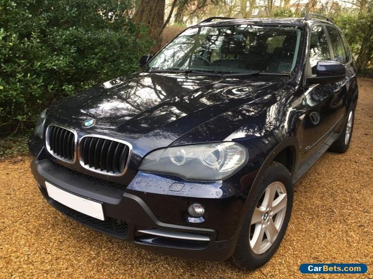 2007 BMW X5 3.0d SE 7 Seat with Rear DVD Sat Nav Rear Camera & Leather #bmw #x5 #forsale #unitedkingdom