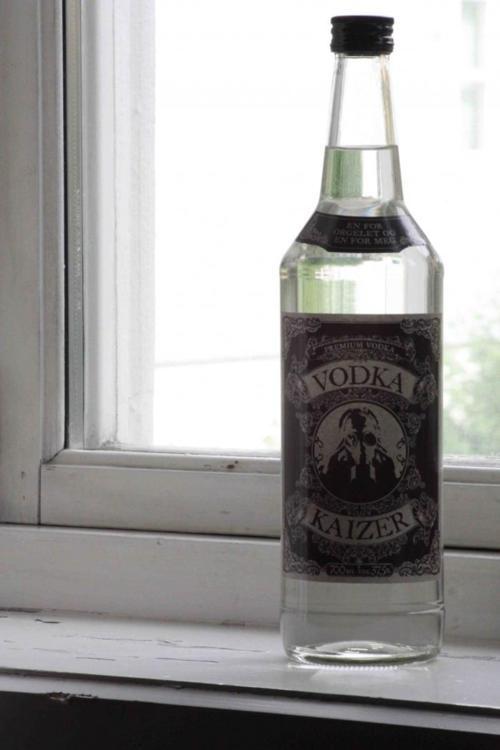 Kaizers vodka!