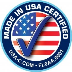 Made in USA Certified