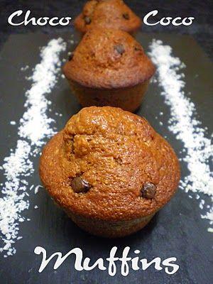 Pourquoi se priver quand c'est bon et léger?: Muffins choco-coco (2.5 pts ww)