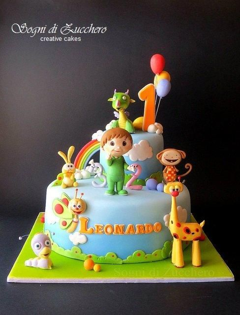 Baby Tv cake - Cake by Maria Letizia Bruno
