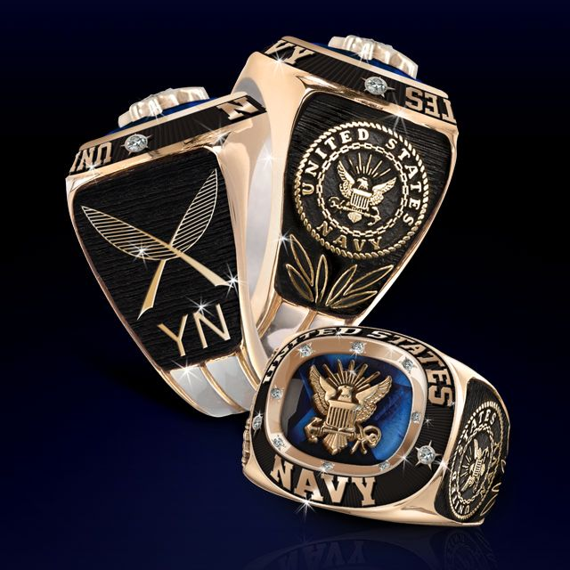 U.S. Navy Career Service Birthstone Rings | Vetcom.comPersonalized Military Gifts | Vietnam War Gifts | U. S. Military Commemorative Gifts