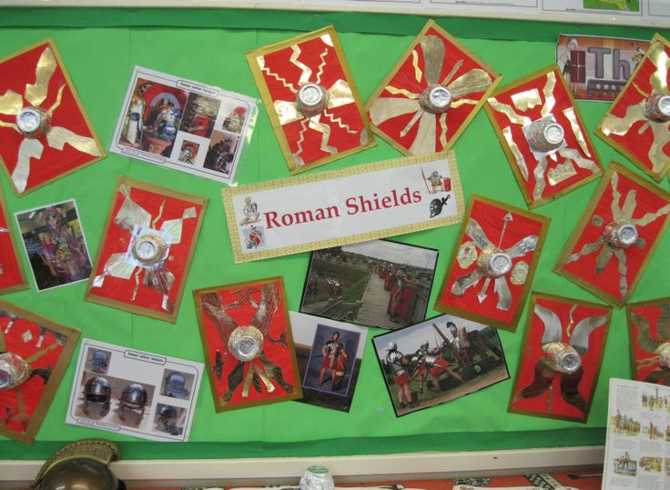 Roman Shields Classroom Display Photo - SparkleBox