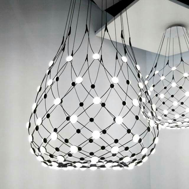 Globeless, Mesh Light By Francisco Gomez Paz For Luceplan