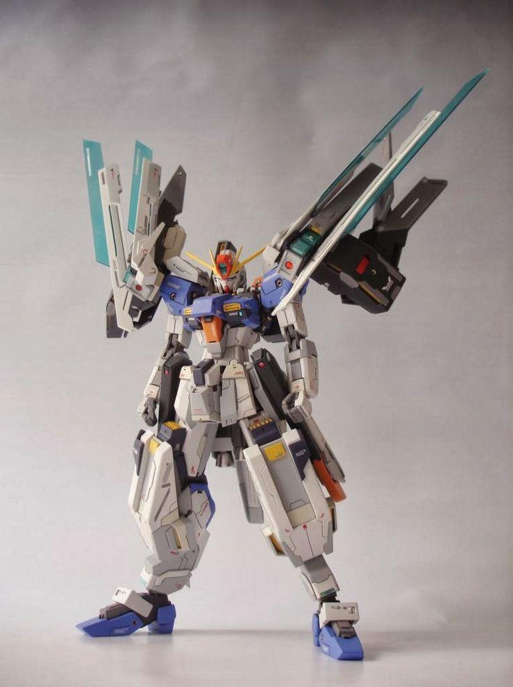Gundam Guy 1 144 Exe 00 Exe Gundam Custom Build