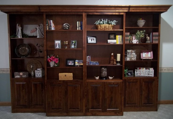 Library bed set with tiger maple cut and beautiful finish our murphy beds pinterest - Pinterest murphy bed ...