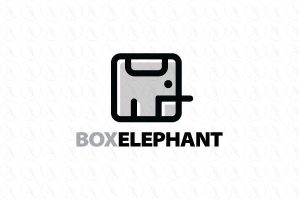 Box Elephant - $299 (negotiable) http://www.stronglogos.com/product/box-elephant…