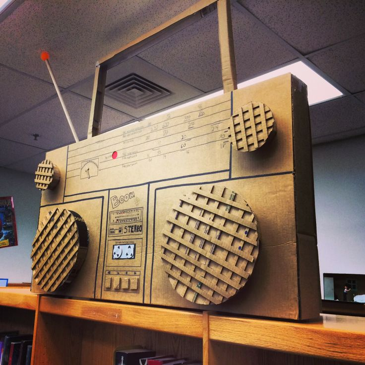 how to make a typewriter out of cardboard