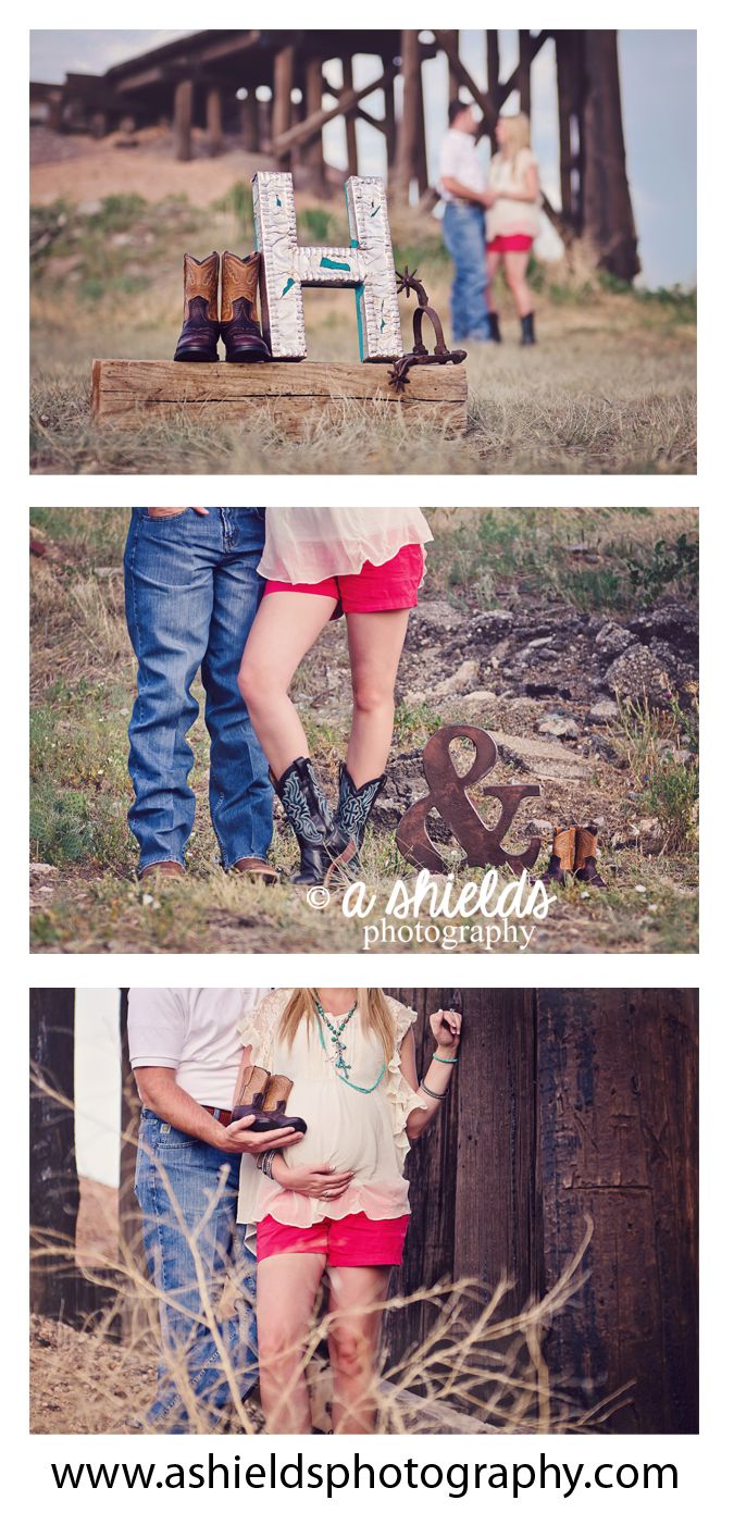 Maternity   Cowboy Boots   Western Theme   Spurs   Amarillo TX   Photo by A Shields Photography