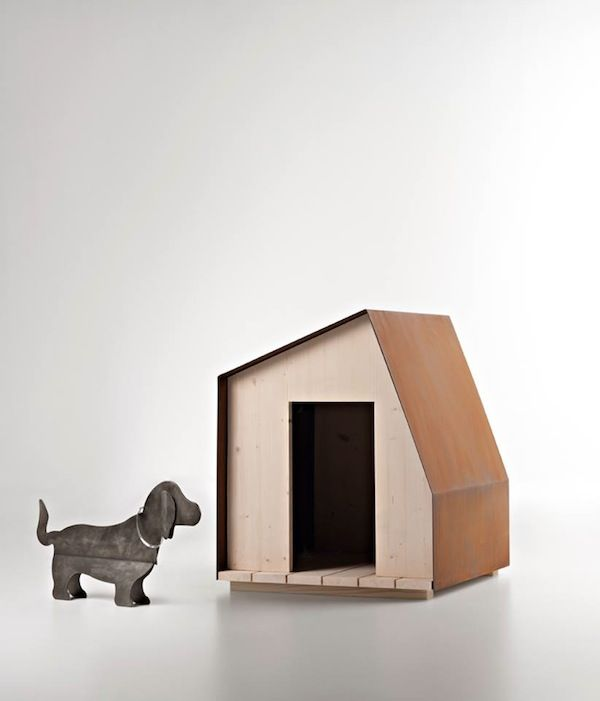 Dog house no 1 by filippo pisan manufactured by de for Architecture and design dog house