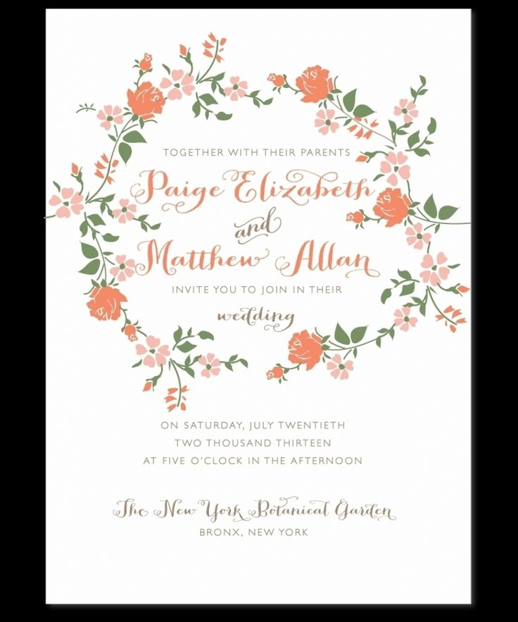 Offbeat Bride Invitation Wording for luxury invitations design