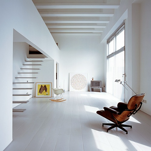 Eames, Artemide, white.: Interior Design, Spaces, Stairs, Inspiration, Interiors, White, Architecture