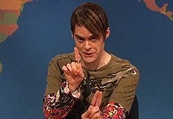 One of my favorite SNL characters, mostly because Bill Hader can't keep it together when he does it. Plus it's written by Hader (one of my SNL favs) & John Mulaney (one of my fav comedians).