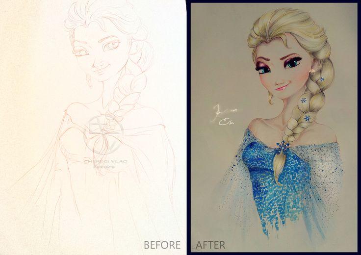 Making of Elsa