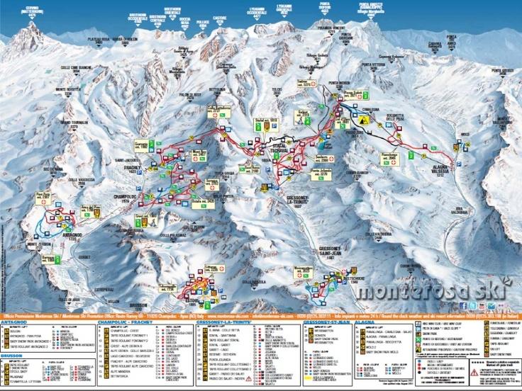 Monterosa Ski, Italy