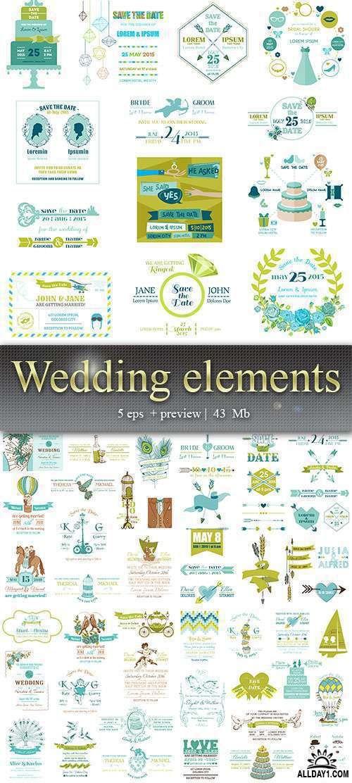 Свадебные элементы – Wedding elements