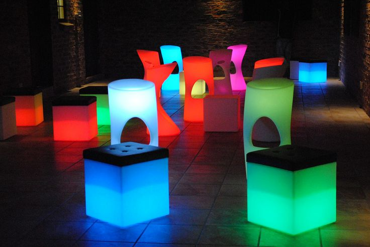 Our new LED furniture