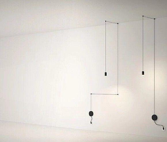 Moderný dizajnový luster, svietidlo na stenu s LED žiarovkou2