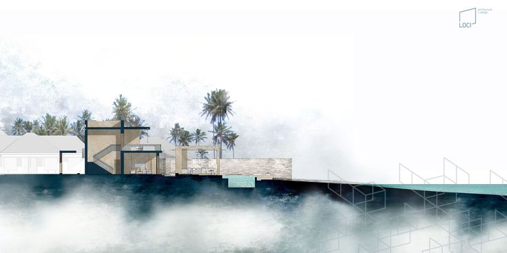 Section   LOCI architecture + design   Projects   Private Villa in East Africa