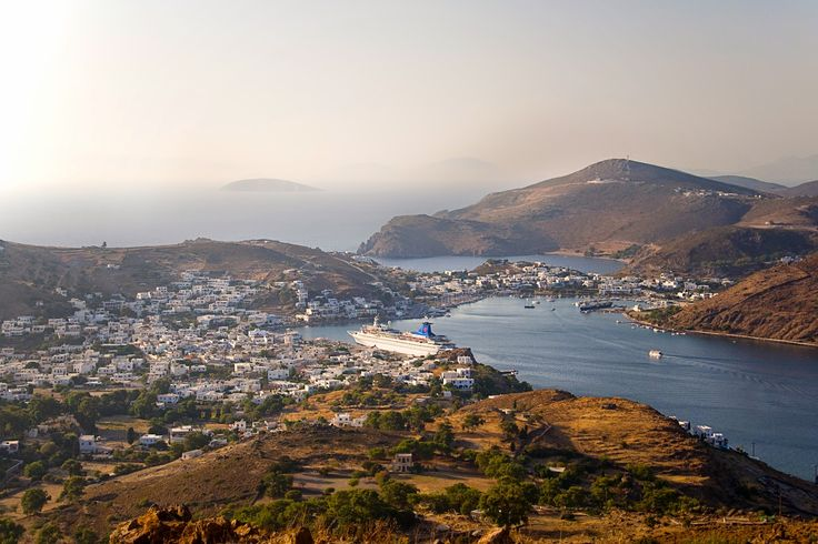 Patmos harbour.