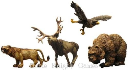 Fenryll-Fantasy-Mini-Resin-28mm-Savage-Animals-Pack-MINT