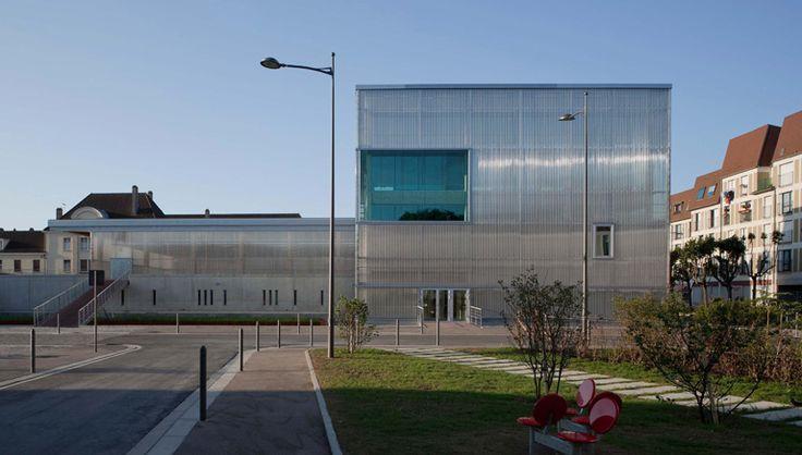 Campus des Comtes de Champagne, Troyes, Lipsky-Rollet Architectes - Realisation