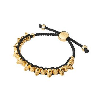 Saint Laurent Bracelet for Women, Yellow Gold, Vermeil, 2017, One Size