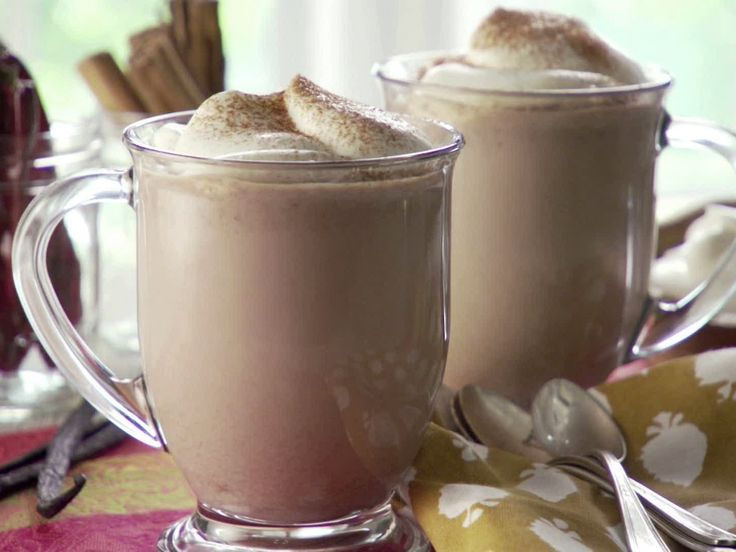 Aztec Hot Chocolate recipe from Marcela Valladolid via Food Network