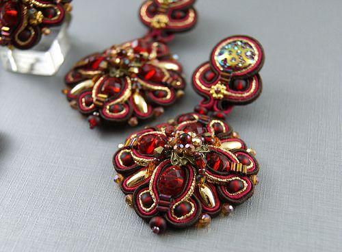 Soutache Earrings | Larissa | Flickr