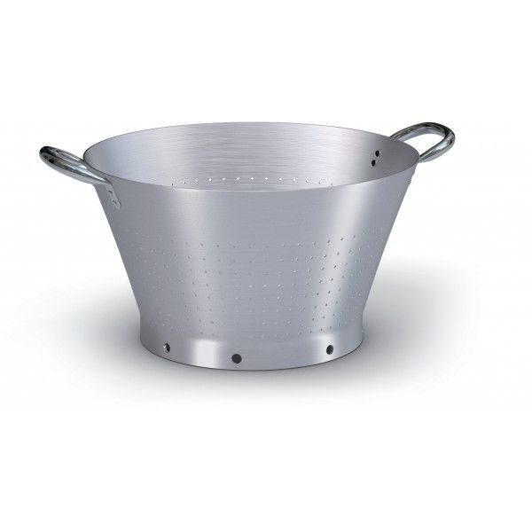 Colapasta 2m 40 conico alluminio - Ballarini Professional colander with 2 handles, Ballarini 99% pure aluminum.