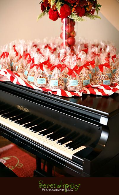 for something different - candy apple favors