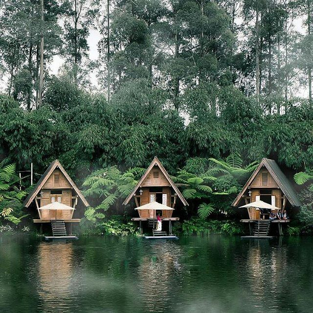 three cute little cabins - the perfect place to relax