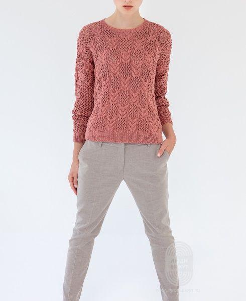 На сайте Люди Вяжут представлена модель №7 из журнала 365 №2 пряжа 365 Cashmere. Приведена инструкция по вязанию для размера: 42/44 #40;50/52#41;.