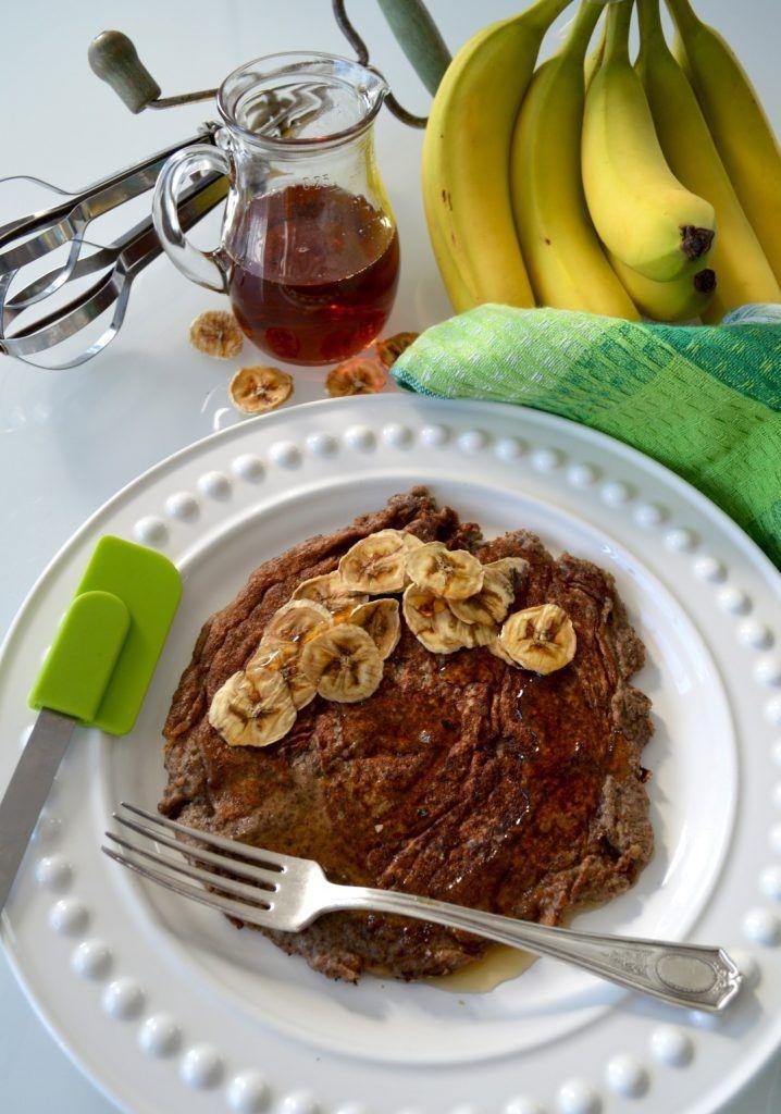 Crêpe rapide protéinée sarrasin-banane (vegan & sans gluten) - Le Sarrasin Végétalien