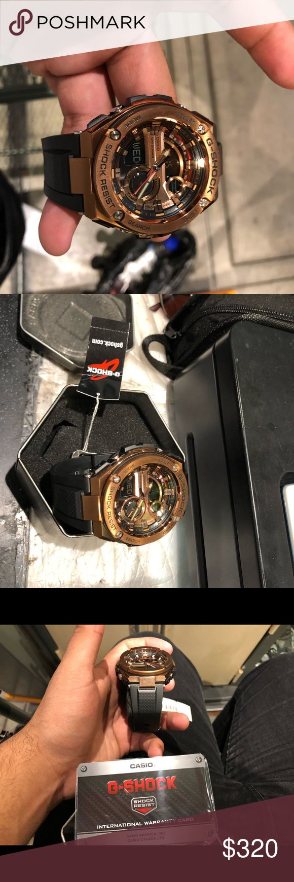 G-SHOCK. Rose Gold. New unworn 100% authentic Rosegold G-Shock. New unworn for sale. G-Shock Accessories Watches