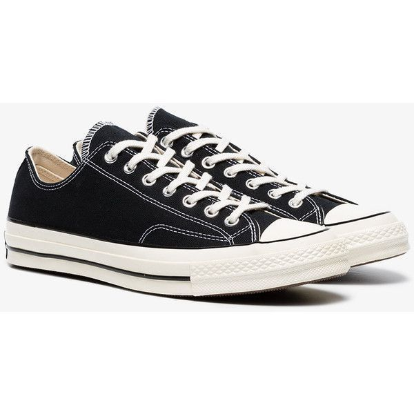 Converse Top 70 Black Sneakers Low Taylor Cotton All Chuck Stars dxeBCo